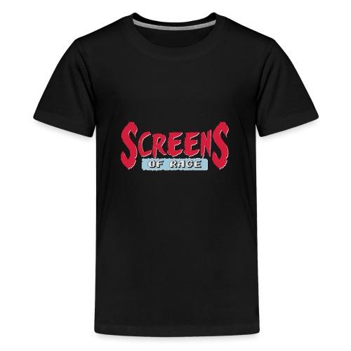 screens of rage - Teenage Premium T-Shirt