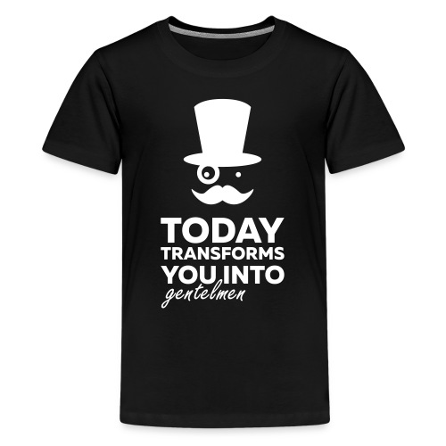 Gentleman today ? - T-shirt Premium Ado