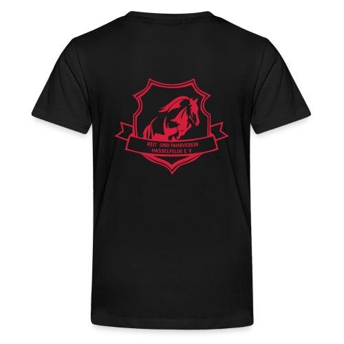 logo_rfv_hsf - Teenager Premium T-Shirt