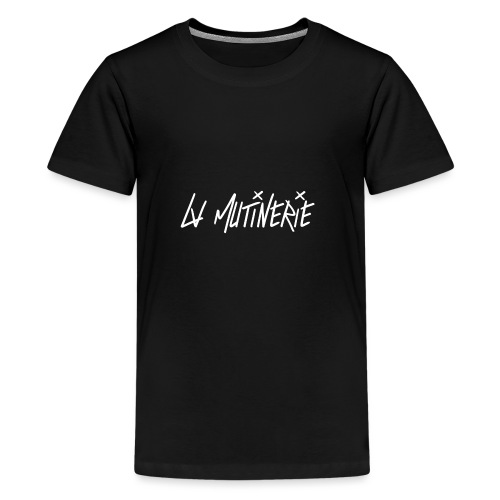 Hoodie Mutinerie Black Against - T-shirt Premium Ado