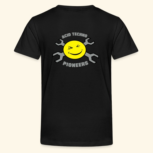 ACID TECHNO PIONEERS - SILVER EDITION - Teenage Premium T-Shirt