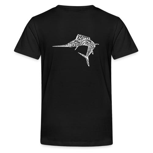 The White Marlin - Teenage Premium T-Shirt