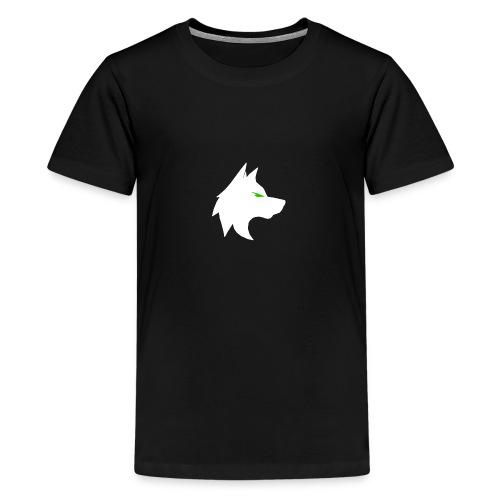 wolf png - Teenage Premium T-Shirt