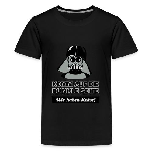 Darth Kiddo - Teenager Premium T-Shirt