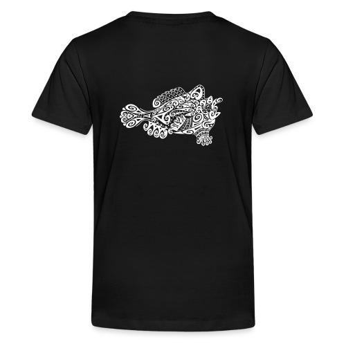 Little cute frogfish - Teenage Premium T-Shirt