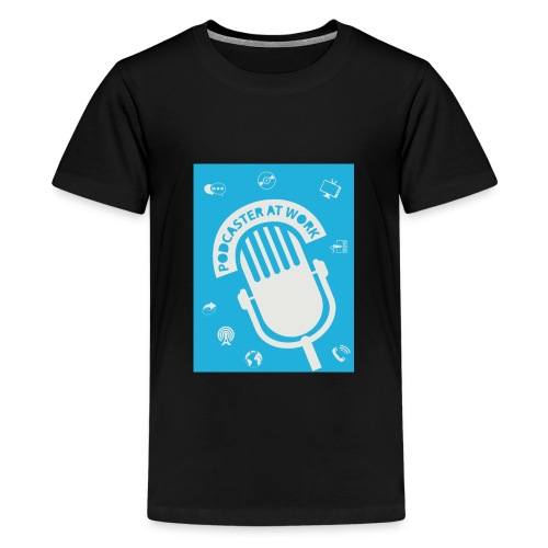 Podcaster at Work - Die Tasse für Podcaster - Teenager Premium T-Shirt