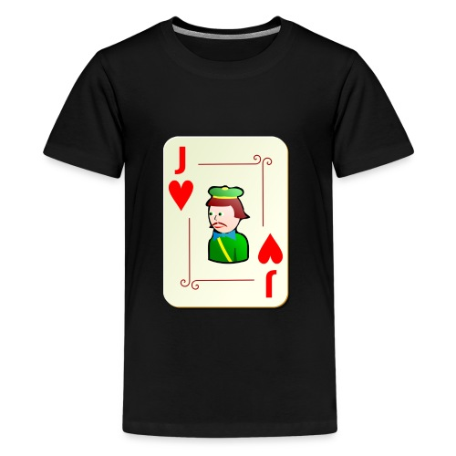 Jack Hearts png - Teenage Premium T-Shirt