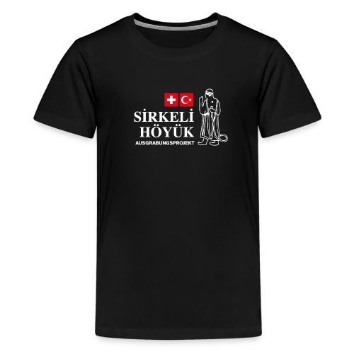 logo gross png - Teenage Premium T-Shirt