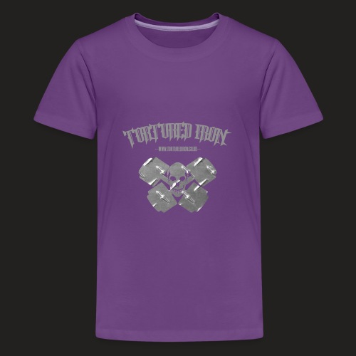 skull - Teenage Premium T-Shirt