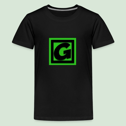 G-team Logo - Teenage Premium T-Shirt