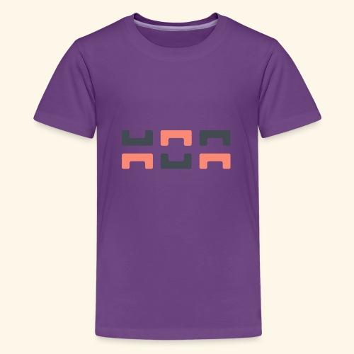 Bezier Elephant, by Hoa - Teenage Premium T-Shirt