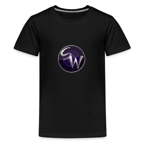 c4 spining png - Teenager Premium T-shirt