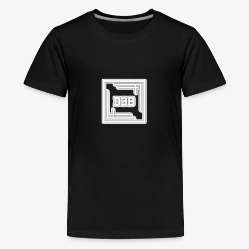 d3b white - T-shirt Premium Ado