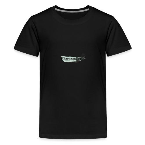 Herrentoilette - Podcast - Teenager Premium T-Shirt