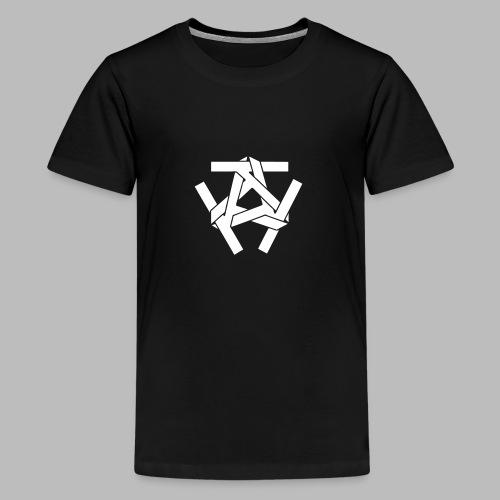 KKK-Logo-vektor - Teenager Premium T-Shirt