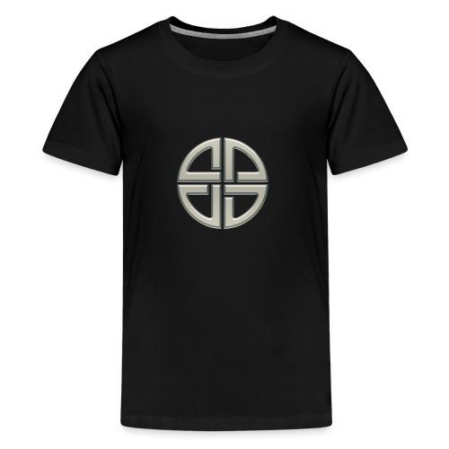 Schildknoten, Keltischer Knoten, Thor Symbol - Teenager Premium T-Shirt