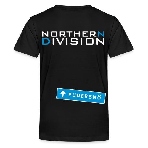 pudersn_2vari - Teinien premium t-paita