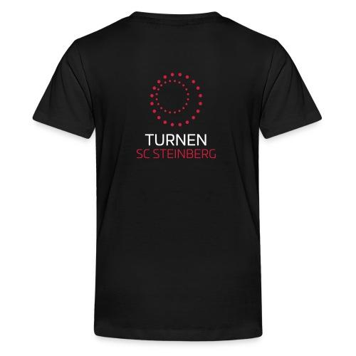 Logo der Turnabteilung des SC Steinbergs - Teenager Premium T-Shirt