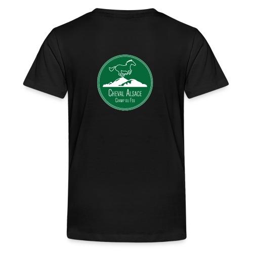 CHEVAL ALSACE- logo - T-shirt Premium Ado
