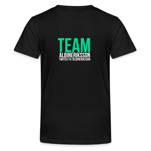 Team albinerikss0n - Premium-T-shirt tonåring