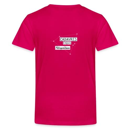 Cadavres Exquis Métropolitains - T-shirt Premium Ado