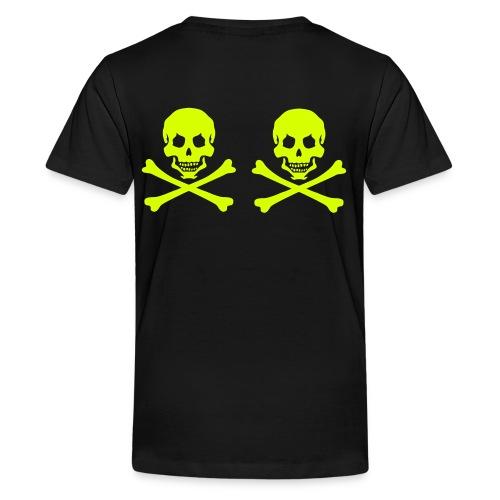pirateskull - Teenage Premium T-Shirt