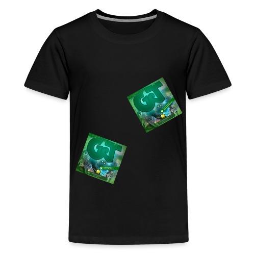 Logo png - Camiseta premium adolescente