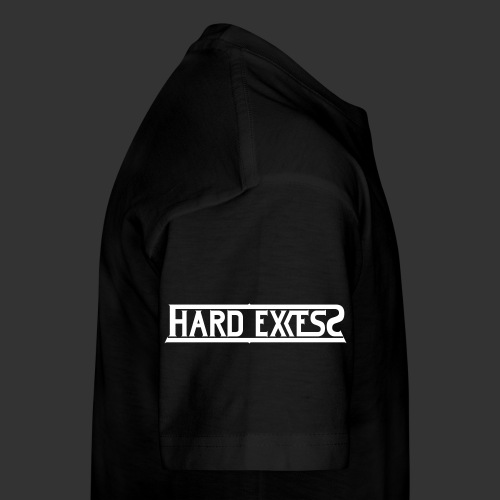 HARD EXCESS Logo weiß - Teenager Premium T-Shirt