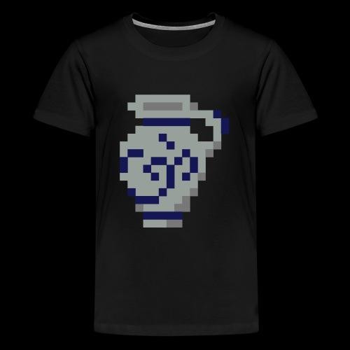 Pixel Bembel - Teenager Premium T-Shirt
