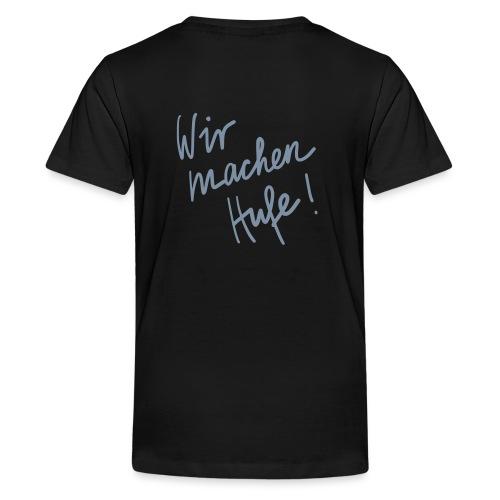 Wir_machen_Hufe - Teenager Premium T-Shirt