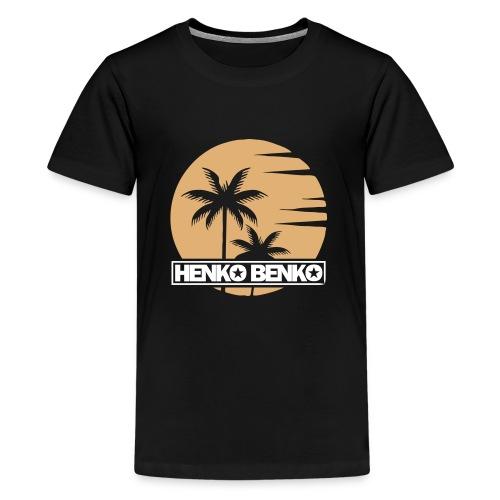 HenkoBenko_Logo_Summer201 - Premium-T-shirt tonåring