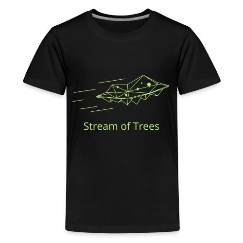 Haxogreen 2020 online - Teenager Premium T-Shirt