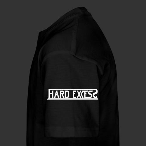 HARD EXCESS Logo weiß - Teenager Premium T-Shirt
