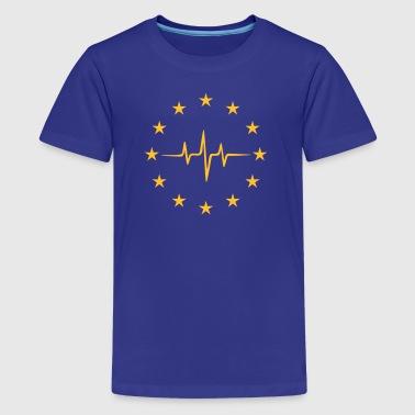 Pulse Europe, Puls Europa, EU, Sterne, Flagge,  - Teenager Premium T-Shirt