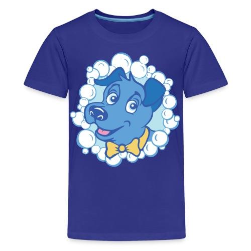 bubblyBarksLogo - Teenage Premium T-Shirt