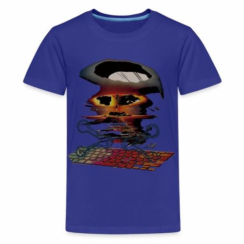 Apocalipsis hackers - Camiseta premium adolescente