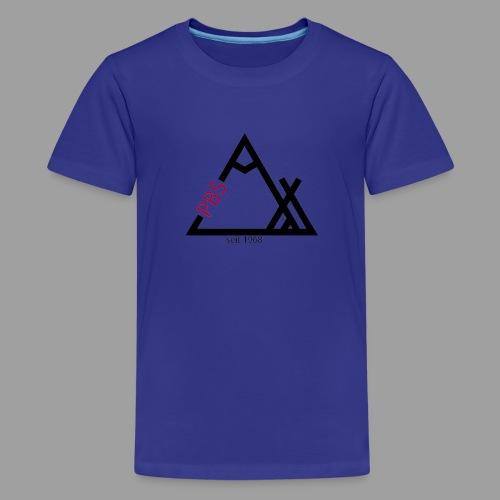PBS Logo Groß - Teenager Premium T-Shirt