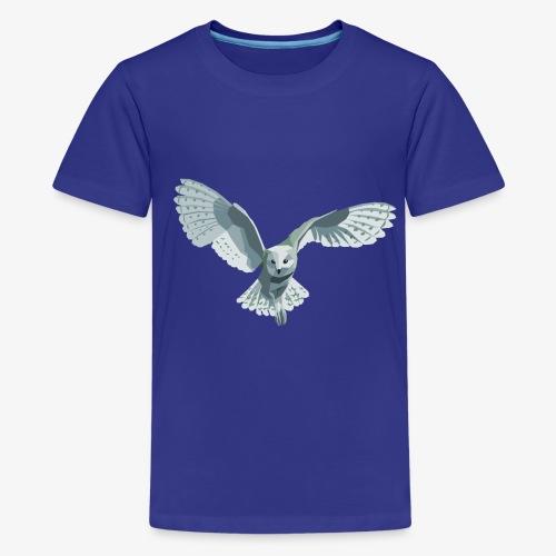 barn owl - Teenager Premium T-Shirt