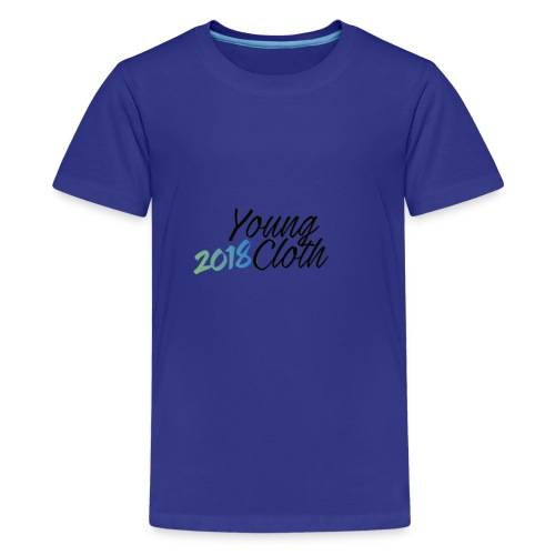 Young Cloth 2018 - T-shirt Premium Ado