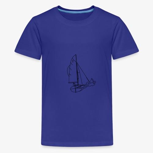 420er Segeln - Teenager Premium T-Shirt