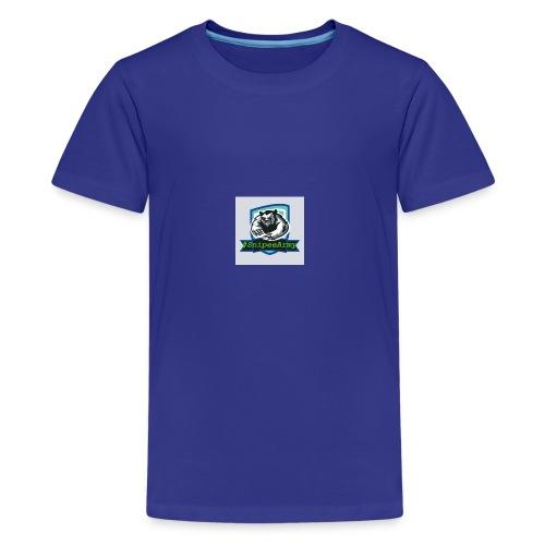 Logo + #SnipeeArmy Schrift - Teenager Premium T-Shirt