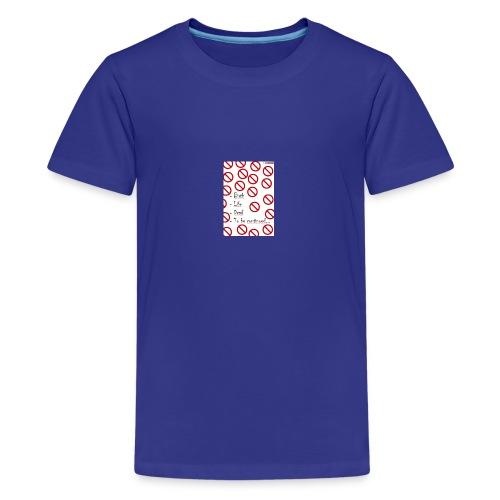 Citation - T-shirt Premium Ado
