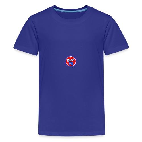 DLM 75 LOGO CLOTHES - Teenage Premium T-Shirt