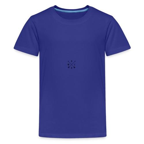 north south east west merch - Teenage Premium T-Shirt