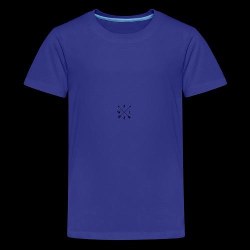 North south east west - Teenage Premium T-Shirt