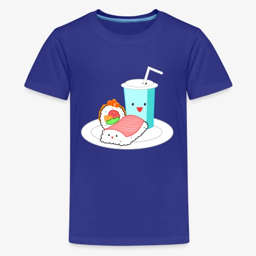 Happy Sushi - Teenager Premium T-shirt