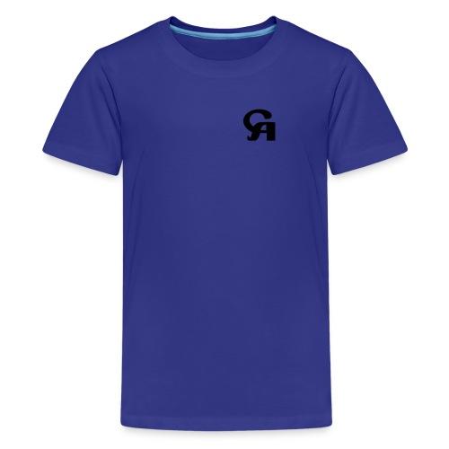 c-v logo - Teenage Premium T-Shirt