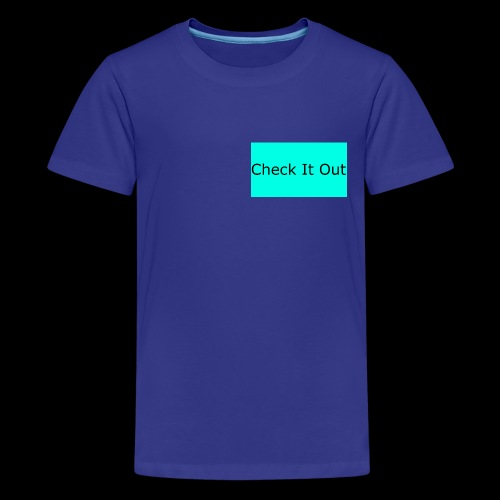 check it out - Teenage Premium T-Shirt