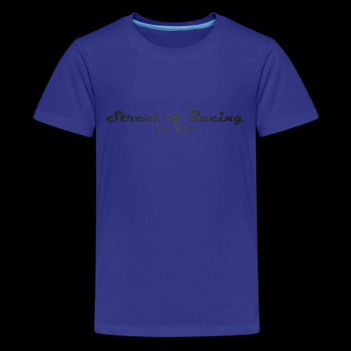 Street of Racing - collection two - Teenager Premium T-Shirt