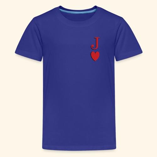 Valet de trèfle - Jack of Heart - Reveal - T-shirt Premium Ado
